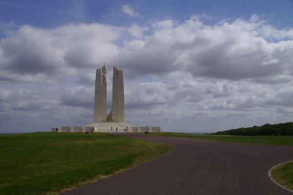Vimy Memorial– Vimy Memorial - August 2012 … Photo courtesy of Marg Liessens