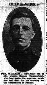 Newspaper clipping– FROM: The Ottawa Journal, Ottawa, ON; 5 December 1916; Page 1