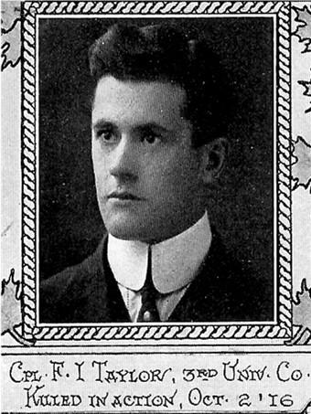 Photo of Frederick Ivanhoe Taylor