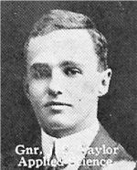 Photo of John Taylor– From: The Varsity Magazine Supplement published by The Students Administrative Council, University of Toronto 1916.   Submitted for the Soldiers' Tower Committee, University of Toronto, by Operation Picture Me.