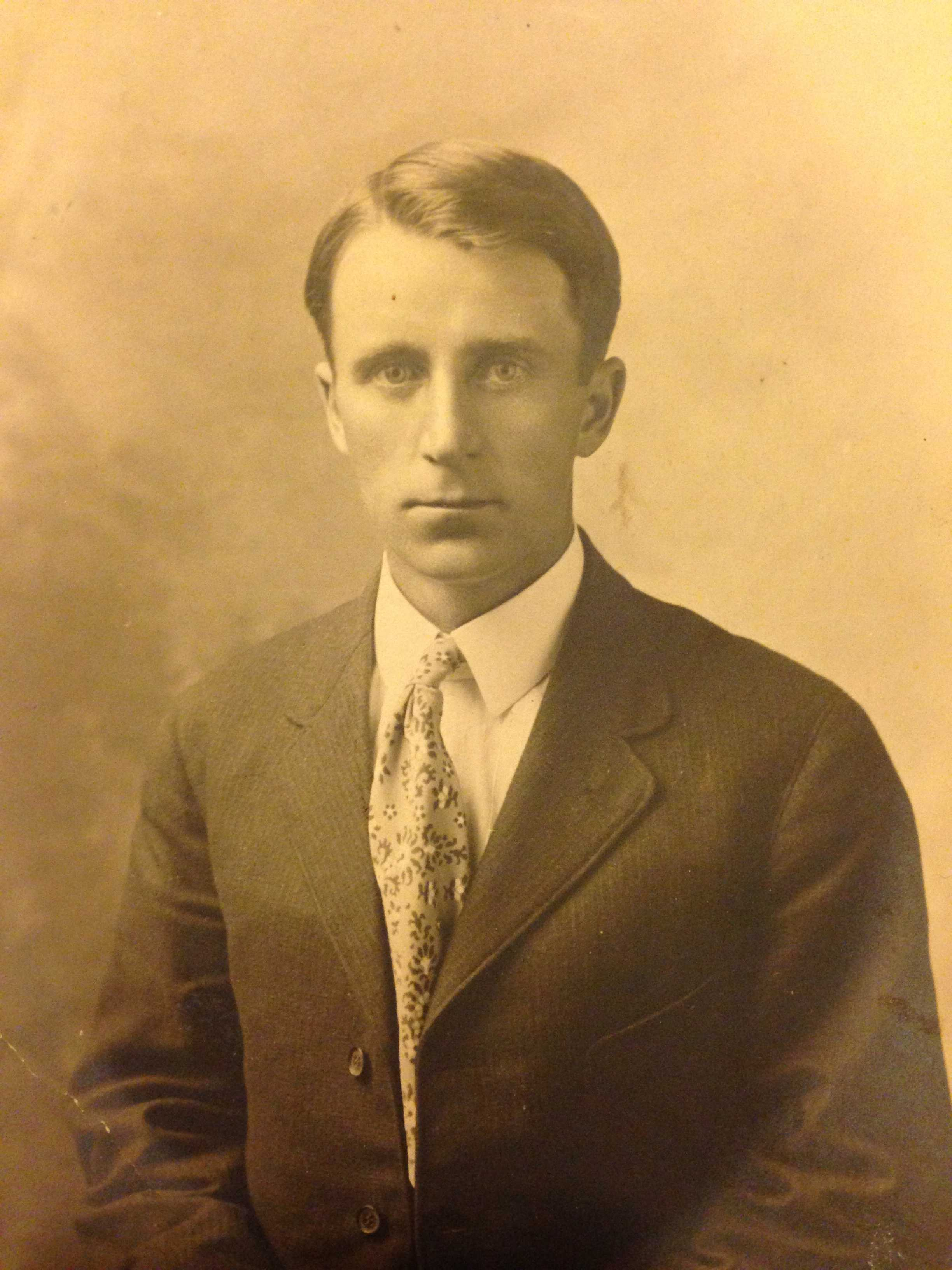 Photo of William Taylor– Uncle William Taylor, brother to my grandmother Gladys Taylor.