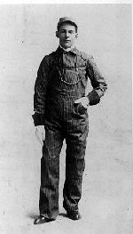Photo of George Ross Thompson– Photo of George Ross Thompson as an engineer with the Canadian Pacific Railway.