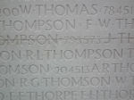 Inscription– Inscription on the Vimy Memorial, France