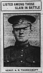 Newspaper clipping– THE CALGARY DAILY HERALD NOVEMBER 29 1916