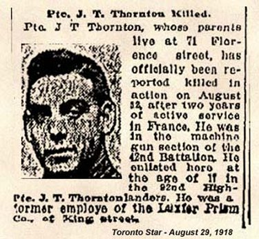 Newspaper Clipping– First part of the War Diaries about the operation on August 12 that led to his death