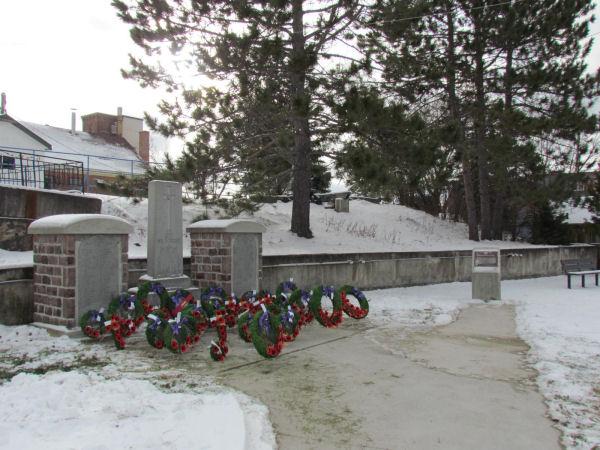 Cenotaph, Cobalt Ontario
