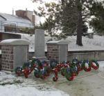 Cenotaph, Cobalt Ontario– Cenotaph in the Major Edward Holland VC Memorial Park, Cobalt Ontario. Photo by Ken Riley