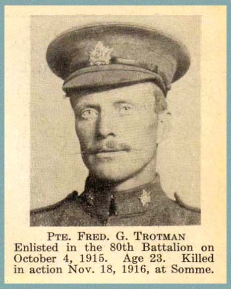 Photo of Frederick Gilbert Trotman
