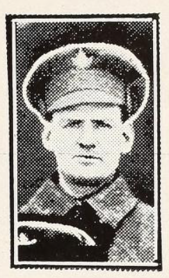 Photo of WILLIAM STANLEY TROYER– Photo from the National Memorial Album of Canadian Heroes c.1919. Submitted for the project, Operation: Picture Me.