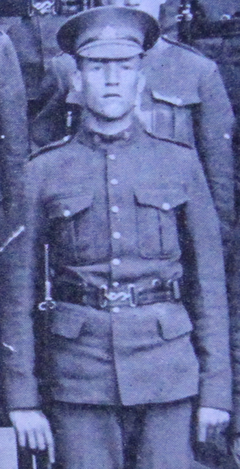 Photo of MATTHEW ALBERT TUCKWOOD– Enrolled with the 37th Battalion CEF. Submitted for the project, Operation: Picture Me