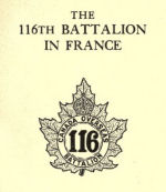 The 116th Battalion– Submitted for the project, Operation: Picture Me