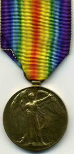 Medal– William Whittlesea's service medal(Front)