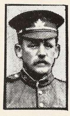Photo of WILLIAM HENRY WILCOX– Photo from the National Memorial Album of Canadian Heroes c.1919. Submitted for the project, Operation: Picture Me.