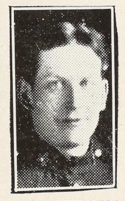 Photo of EDWARD ALEXANDER WILKINSON– Photo from the National Memorial Album of Canadian Heroes c.1919. Submitted for the project, Operation: Picture Me.