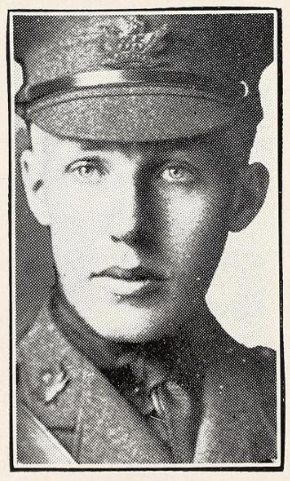 Photo of WILLIAM HARTLEY WILLARD– Photo from the National Memorial Album of Canadian Heroes c.1919. Submitted for the project, Operation: Picture Me.