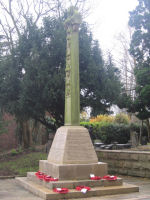 War Memorial– This is the War Memorial at Littleover near Derby, England on which Frank Williamson's name is commemorated.
