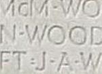 Inscription– Panel Wilmot - Zuidema, Vimy Memorial, PP Wood