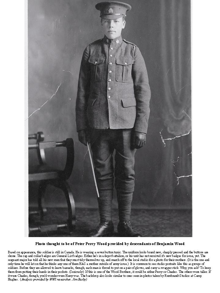 Photo of Peter Percy Wood