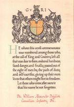 Memorial Scroll