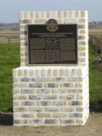 Memorial– Regimental Memorial Battle of 2nd Ypres located on Gravenstafel Ridge. Photo by BGen(ret'd) G. Young. Submitted by Capt (ret'd) V. Goldman 15th Bn Memorial Project Team.  DILEAS GU BRATH