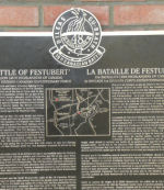 Memorial– Regimental Memorial Battle of 2nd Ypres located in St Julien. Photo by BGen(ret'd) G. Young. Submitted by Capt (ret'd) V. Goldman 15th Bn Memorial Project Team.  DILEAS GU BRATH