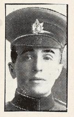 Photo of THOMAS MELVILLE DAVIS– Photo from the National Memorial Album of Canadian Heroes c.1919. Submitted for the project, Operation: Picture Me.