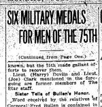 Newspaper Clipping (2)– Second part of a clipping from the Toronto Daily Star for 23 October 1916, page 4.