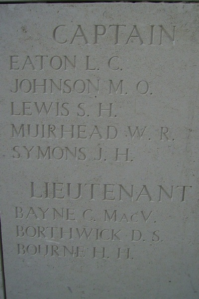 Inscription on Menin Gate
