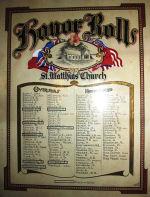 Roll of Honour– St.Matthias, Halifax