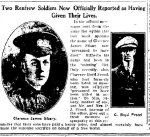 Newspaper Clipping– From the Renfrew Mercury for 23 March 1917.