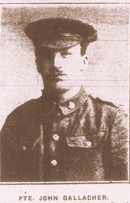 Newspaper Clipping– Image from local newspaper, The Ayrshire Post, at the time of his death in 1917