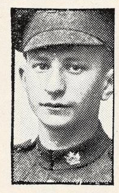 Photo of HAROLD GARFUNKLE– Photo from the National Memorial Album of Canadian Heroes c.1919. Submitted for the project, Operation: Picture Me.