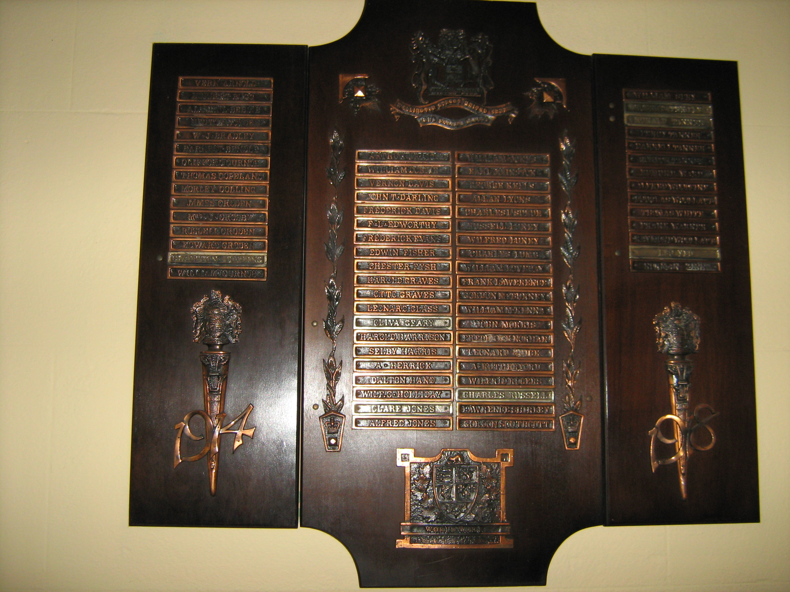 War Memorial– Geary appears on the WW1 Honour Roll of Wellington Street United Church, London, Ontario. This church is now closed and its congregation is part of Rowntree Memorial United. Geary's given name is spelled Oliva on the Memorial.