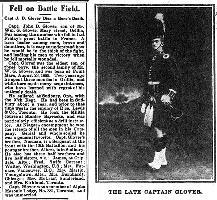 Coupure de presse – Orillia Times, 29 avril 1915