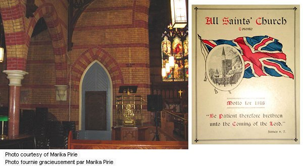 """Montage Église """"All Saints"""""""