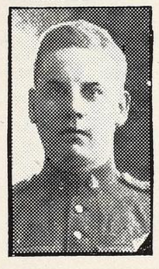 Photo of WILLIAM JAMES GORDON– Photo from the National Memorial Album of Canadian Heroes c.1919. Submitted for the project, Operation: Picture Me.