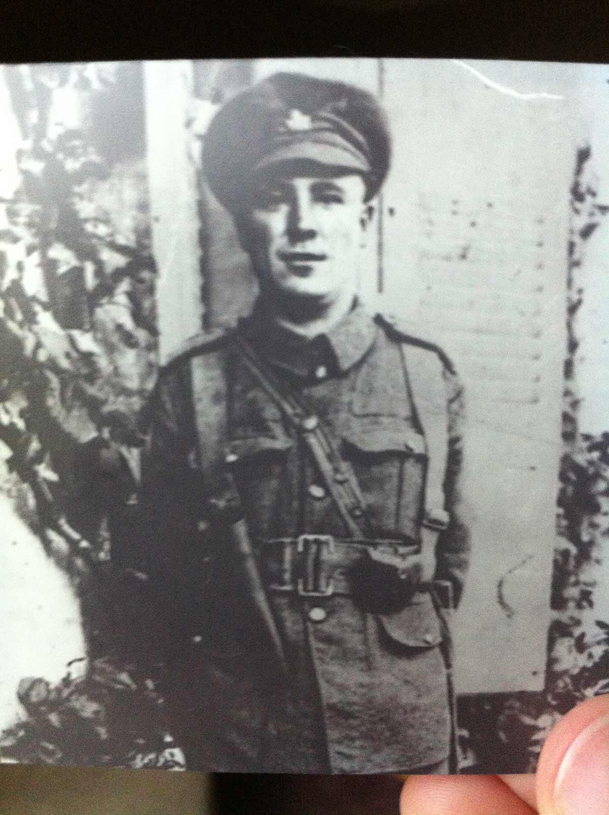 Photo of Alfred Granger– World War I