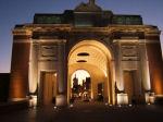 "Menin Gate Memorial– Robert Carlton Grant was killed in Ypres on June 2, 1916 - his name is engraved on the Menin Memorial Gate - Panel ""10"" - 58"
