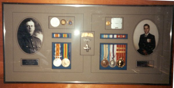 Medals and Photographs