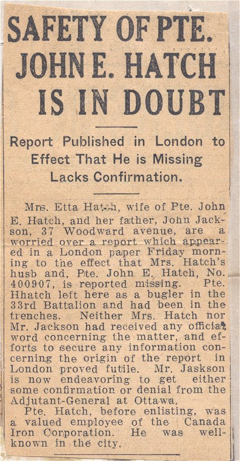 Press clipping 3 - Missing