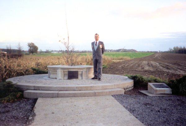 Monument at Bellewaarde Ridge Museum