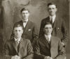 "Family Photo (The Healy brothers)– Healy Brothers:   BR - Jim and ""Thomas Joseph Healy"" FR - John and Edward"