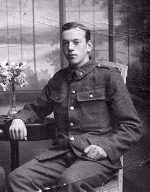 Photo of Wesley Henderson– Picture taken in London about 1914-15 prior to going to France.