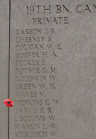 Medal– Inscription on the Menin Gate … photo courtesy of Marg Liessens