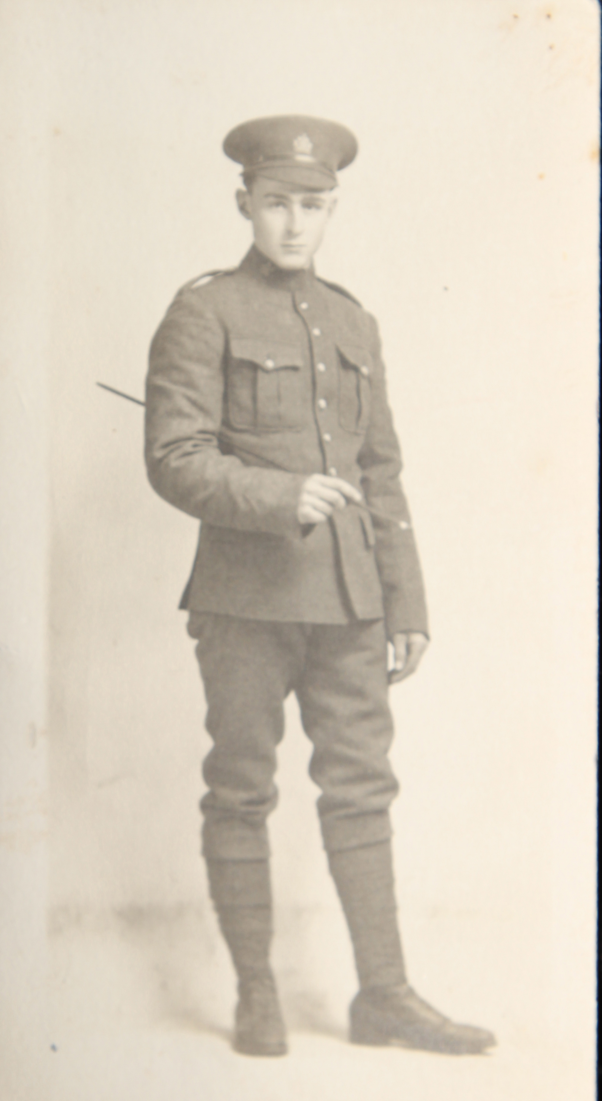 Photo of Raoul Laurestan Hyslop– In memory of uncle Ray. Submitted for the project, Operation: Picture Me
