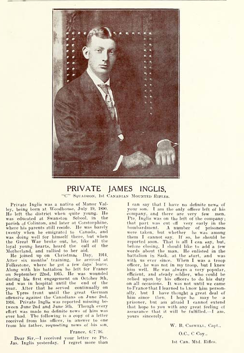 Photo of JAMES INGLIS