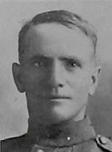 Photo of Fred Jackson– Pte Fred Jackson --from The Christmas Echo published in December 1918 in London Ontario