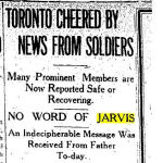 "Newspaper Clipping– Toronto Star ""Pages of the Past"" online