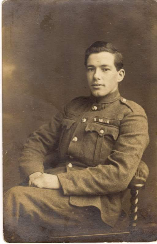 Photo of JOHN KINNIER– This is a photo of johns brother thomas kinnier my grandfather thomas kinnier survived the war.