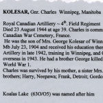 Newspaper Clipping– Siblings killed 2 World Wars